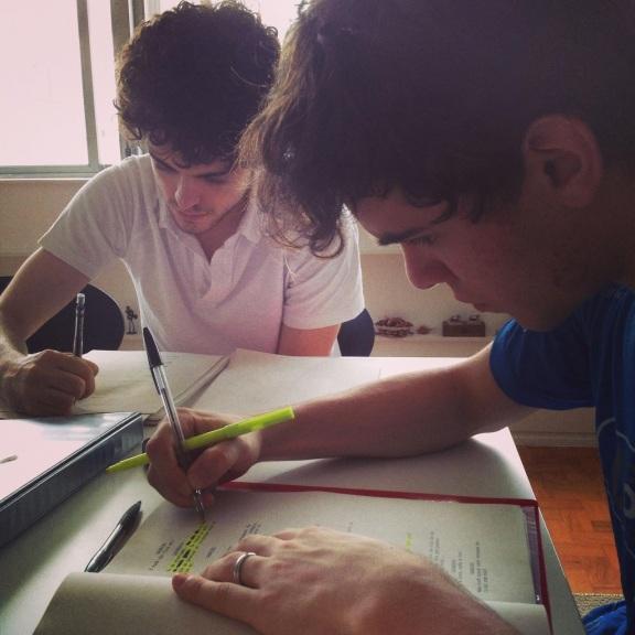 Leonardo e Gabriel (Fabio Audi).