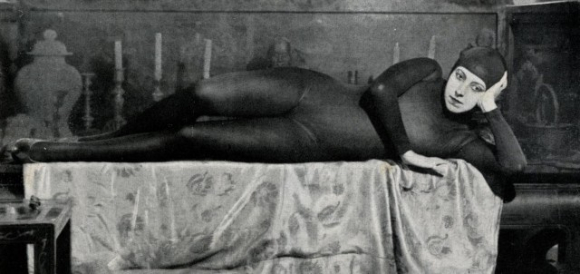Musidora como Irma Vep, voluptosidade e alma.
