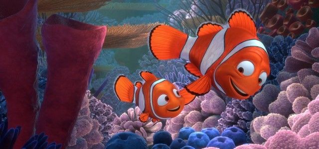 Nemo e Marlin. Iguais a todos os peixes-palhaço.