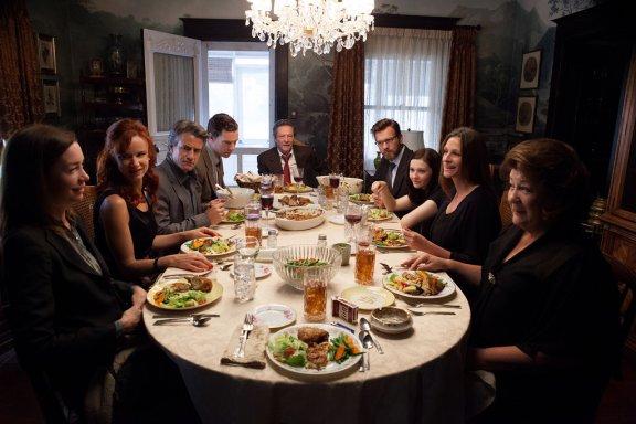 A cena da janta. Clímax dos conflitos.
