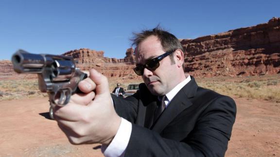 Mark Shepard. O agente americano que se mostrou digno da companhia britânica.