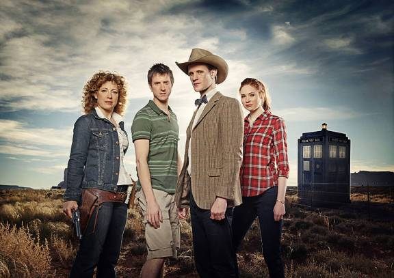"River Song, Rory Williams, o Doutor e Amy Pond. A ""família"" do Doutor?"