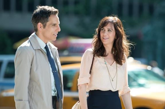 Walter e a colega por quem nutre uma paixão secreta.