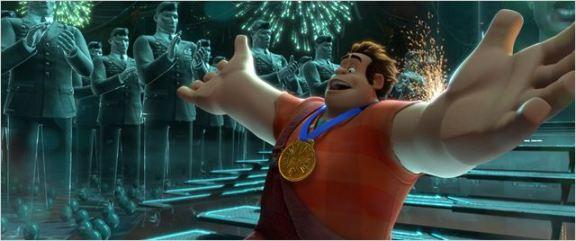 Ralph e o sonho da medalha dourada.