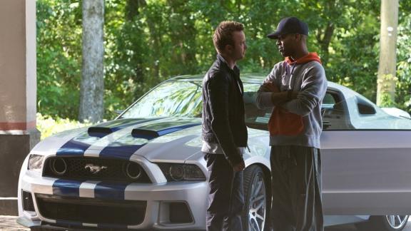 O Mustang é a grande estrela do filme.