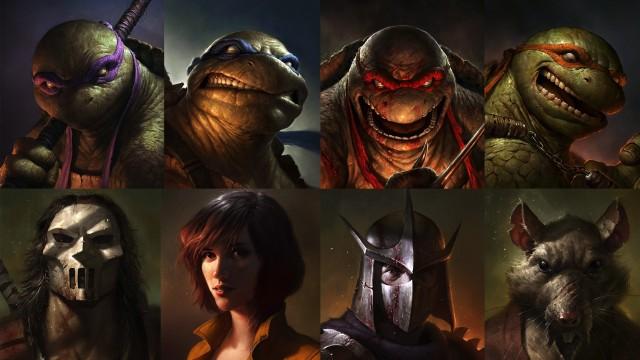 Teenage-Mutant-Ninja-Turtles-Scary-HD-Desktop-Wallpaper