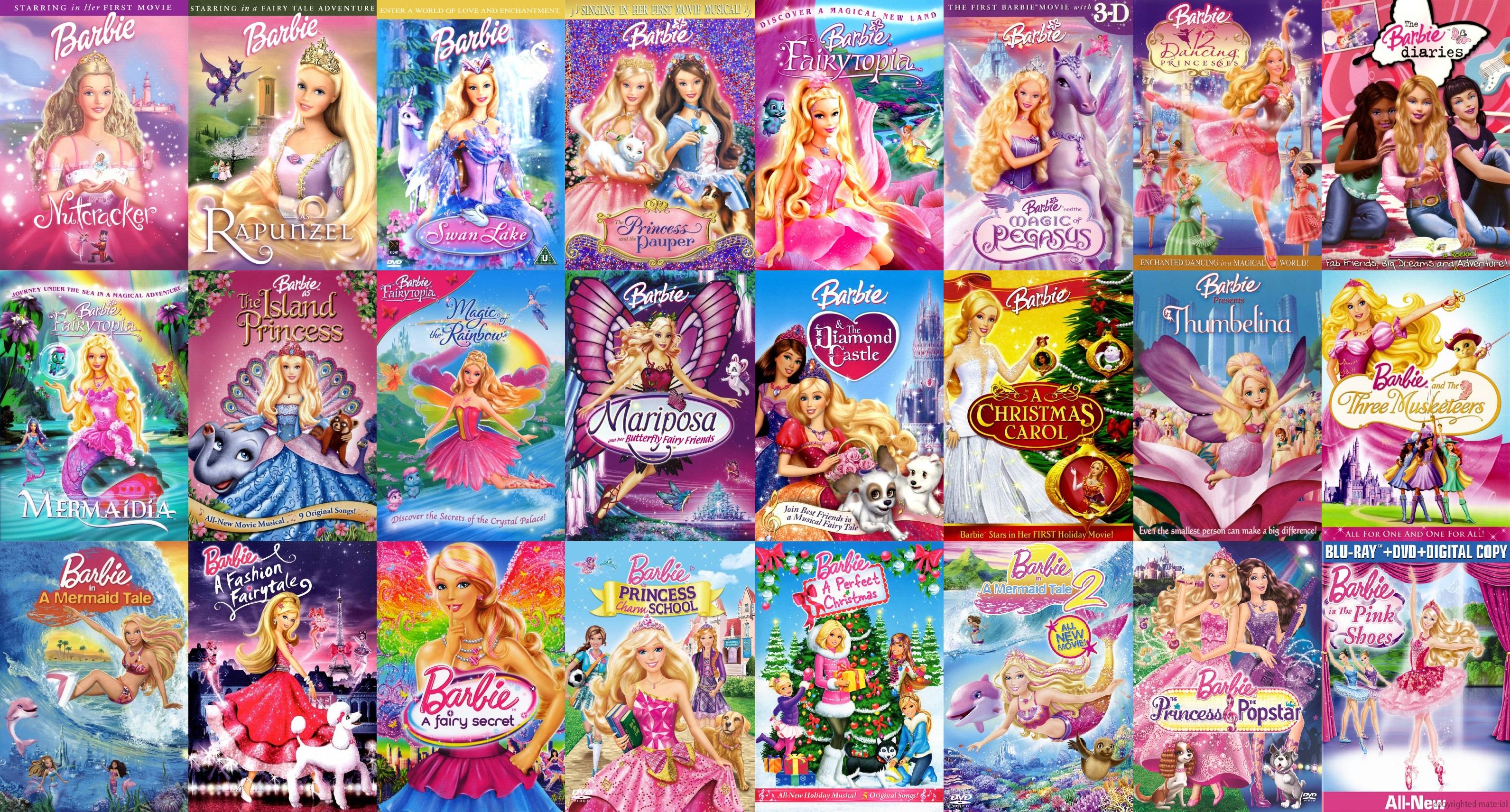 барби мультфильмы принцесса и поп-звезда смотреть