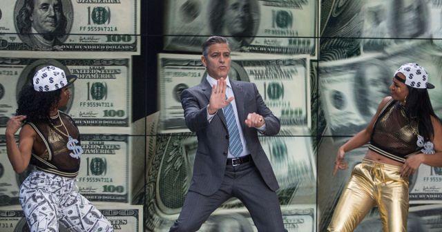 Clooney dança rap