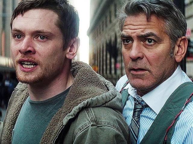 Clooney e O'Connel tensos