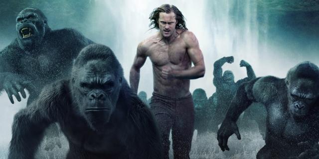 Tarzan com os gorilas