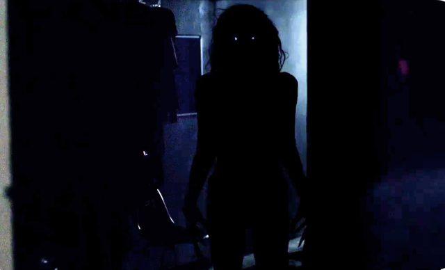 bicho no escuro