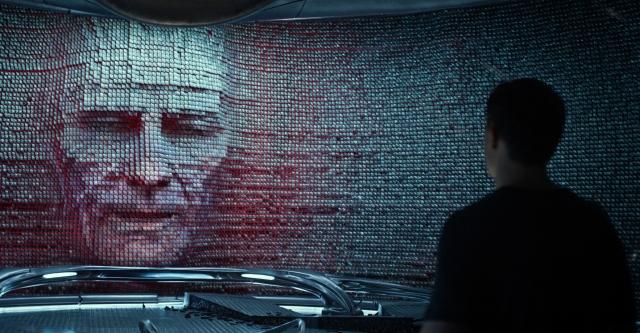 Zordon na parede