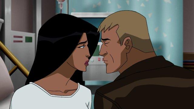 Diana e Steve quase se beijam