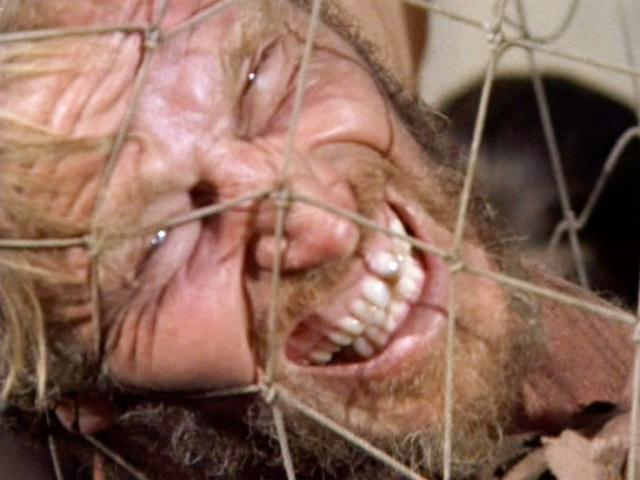 Charlton Heston preso na rede