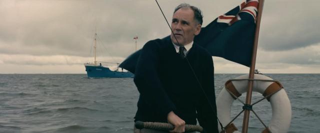 Mark Rylance comanda barco