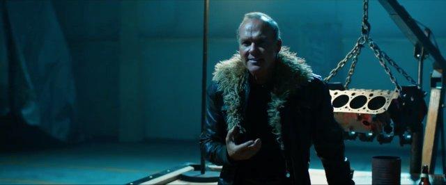 Michael Keaton como abutre