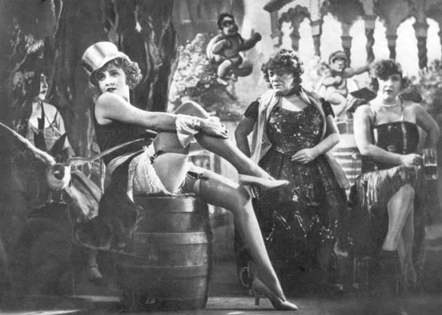 Marlene Dietrich em cena