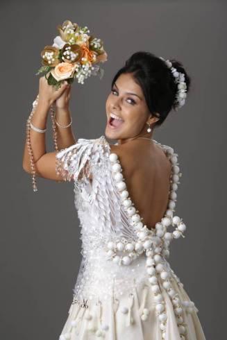 Paloma Bernardi de noiva