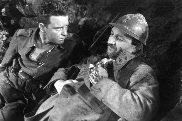 Paul com soldado que ele matou