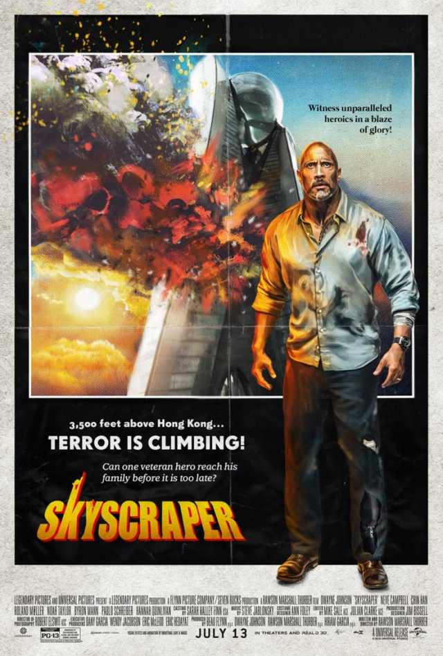 poster imita Inferno na Torre