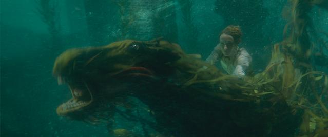 Newt no cavalo marinho magico